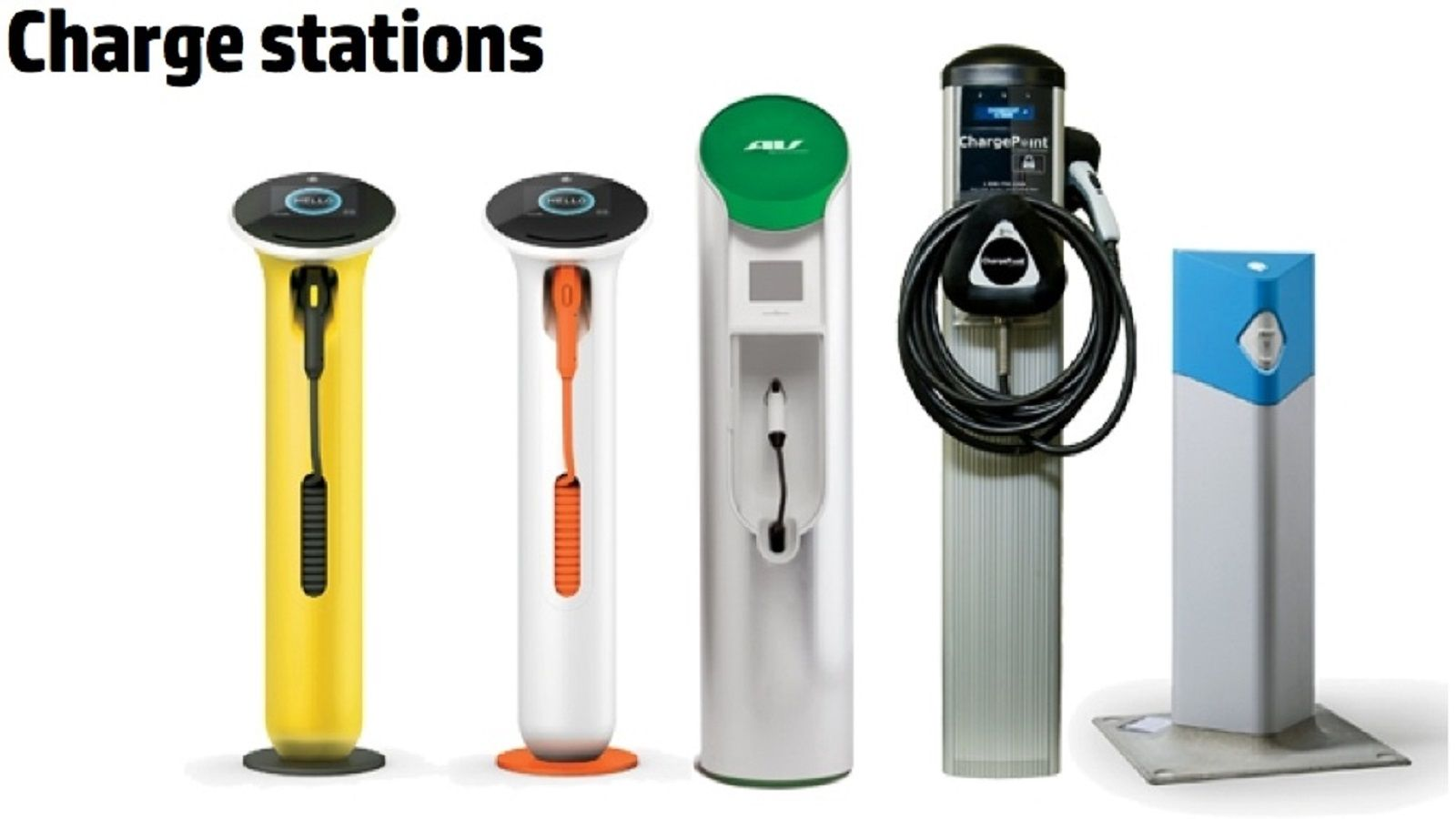 Electric Car Charging Stations