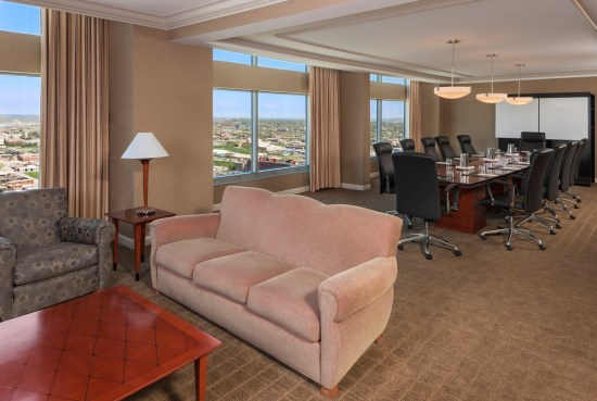 Sheraton Luxury Suite Parlor with Conference Table